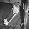 Bo Areskoug på väg till Berlin 1958.