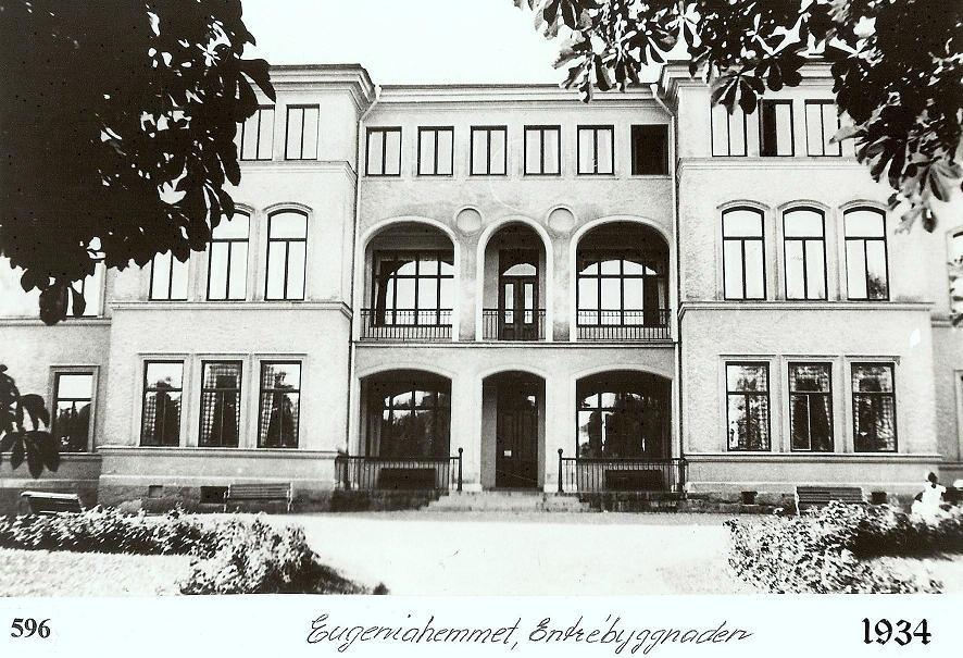 Entrébyggnaden 1934.