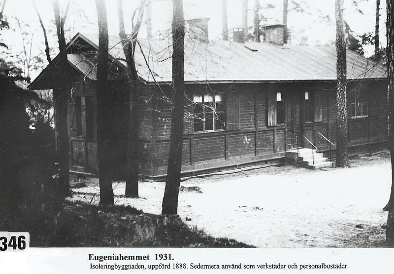 Isoleringsbyggnaden 1931.