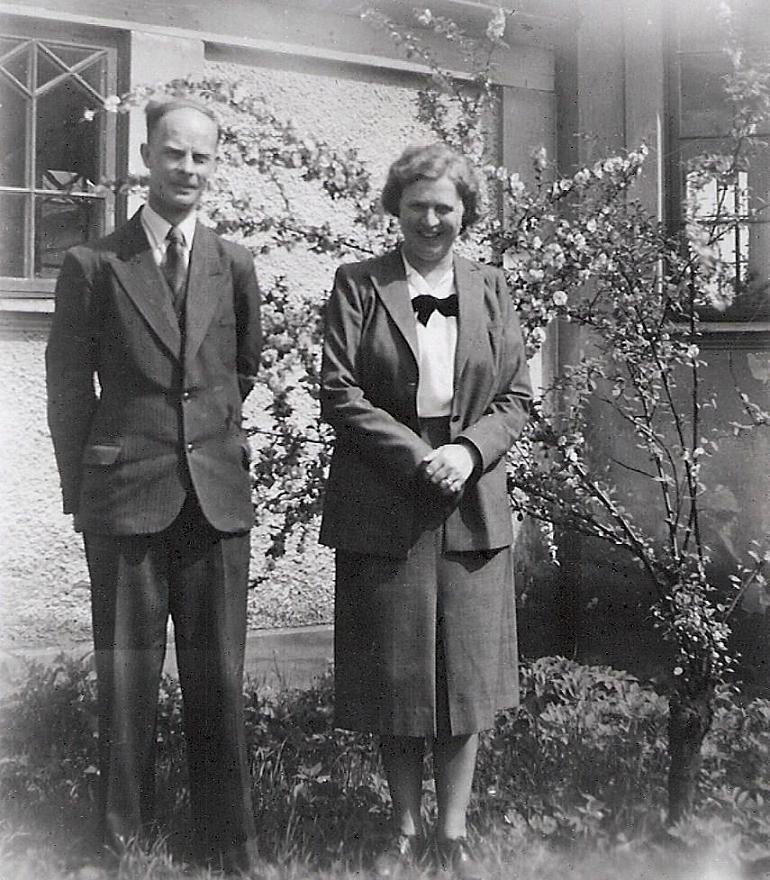 Elis Johansson och Linnea Askerlund.