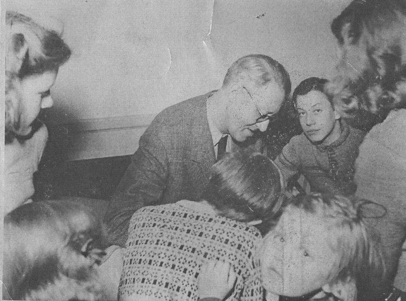 Sven Jerring på skolhemmet