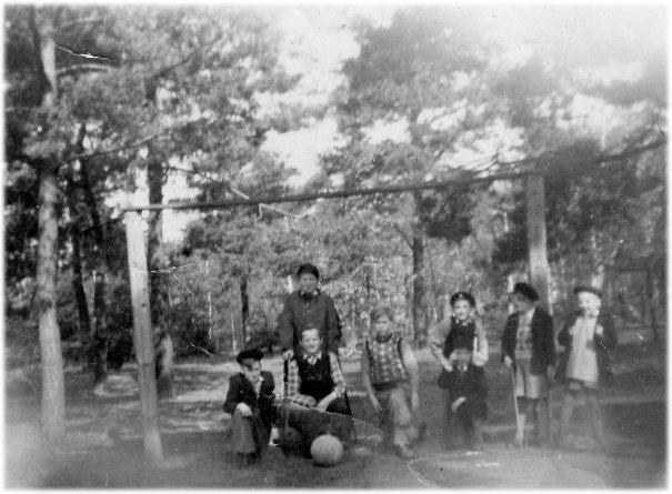 Fotbollslag omkring 1948