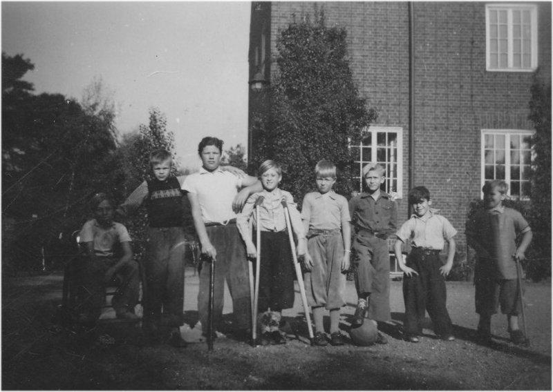 Fotbollspelare i början av 1950-talet