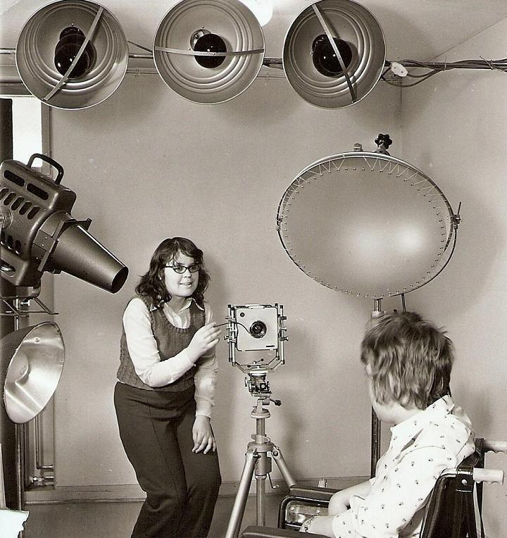 Fotoskolan 1967, porträttfotografering.