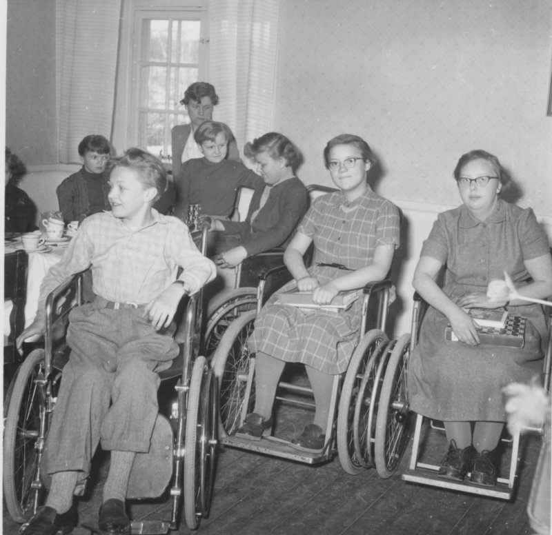 Frimärksklubben 1954