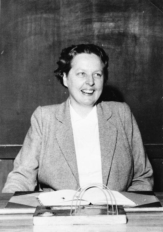 Fröken Ingrid Råberg 1953