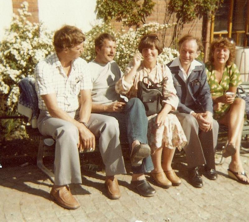 Gert Boström med personal.