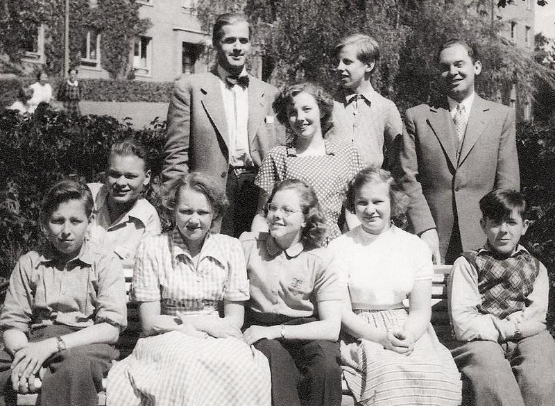 Klass 1:4 läsåret 1950-51.