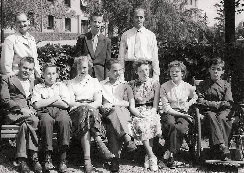 Klass 3:4 läsåret 1952-53.