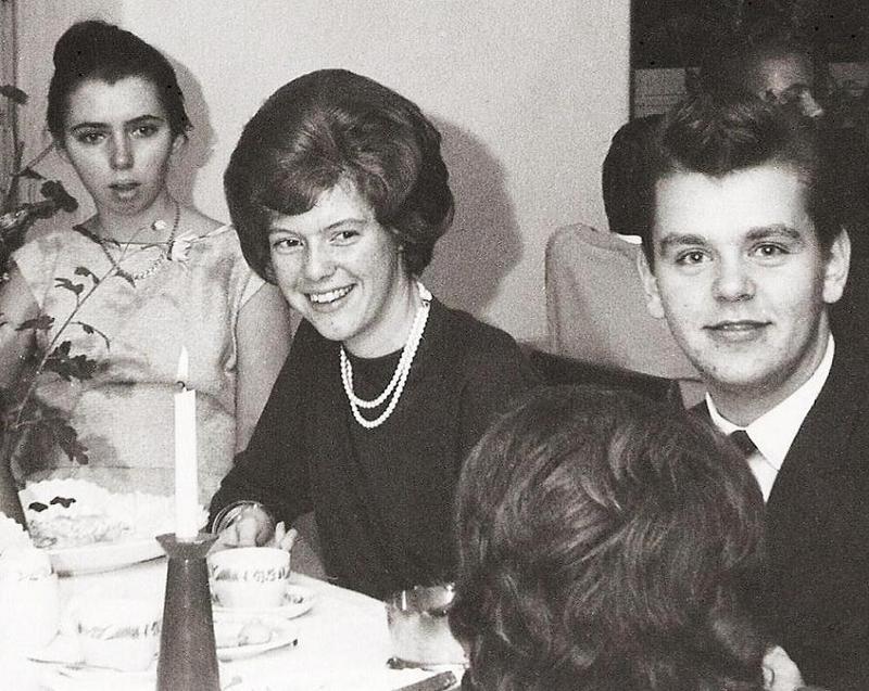 Laila, Sylvia och Walther.