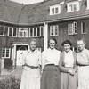 Elsa, Birgit, Hjördis och Anna.