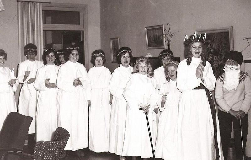 Luciafirande omkr. 1963.