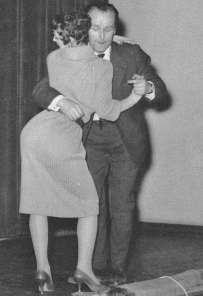 Dansuppvisning 1958.