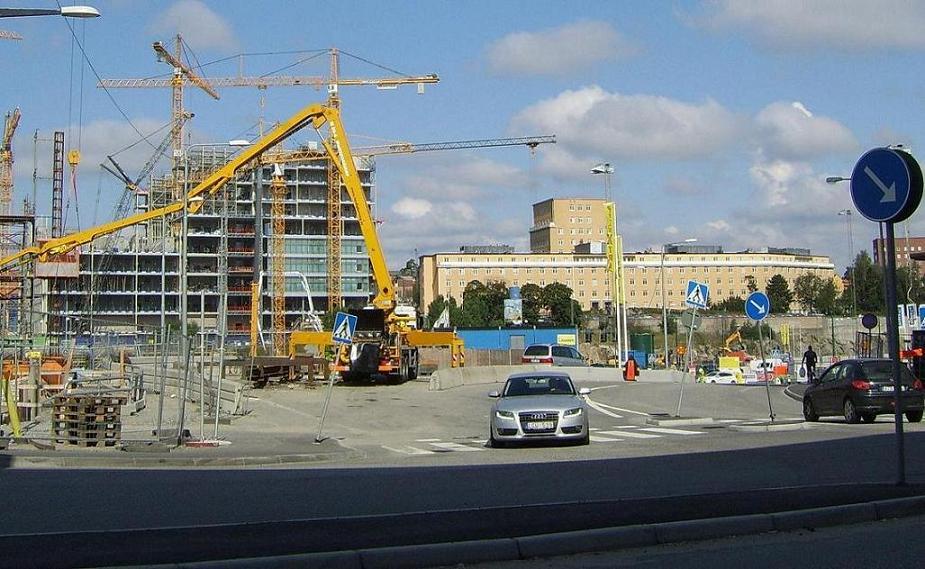 KS-bygget augusti 2012.