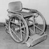 Första basketrullstolen 1957.