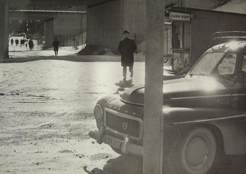 """""""Morsans kiosk"""" nedanför backen vid Nortull."""
