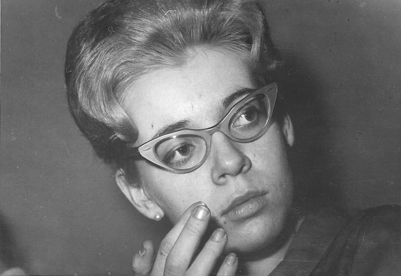 Siv Hellmark examen 1961.