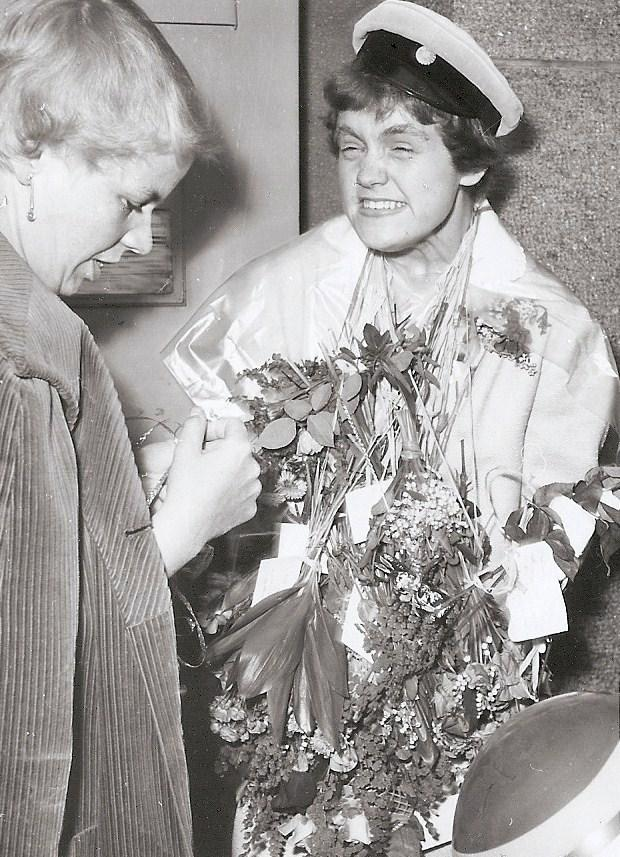 Marianne examen 1958.