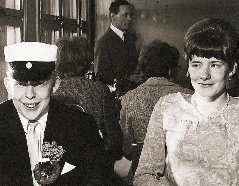 Bertil Bosrup examen 1967.