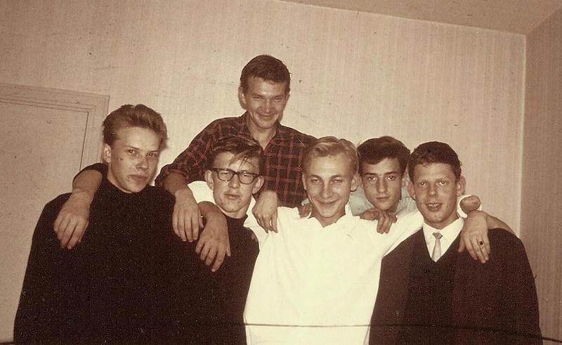 Lillebogänget 1964.
