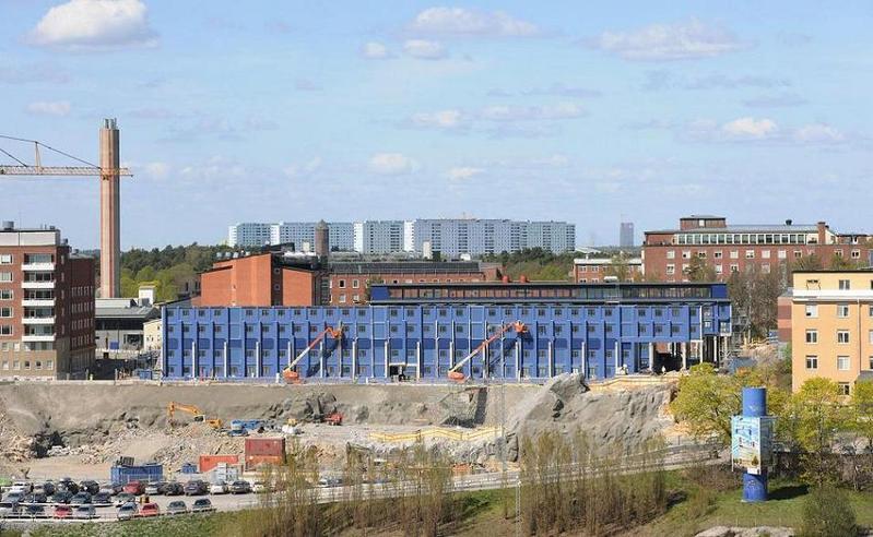 KS-bygget vid Norrbacka april 2011.