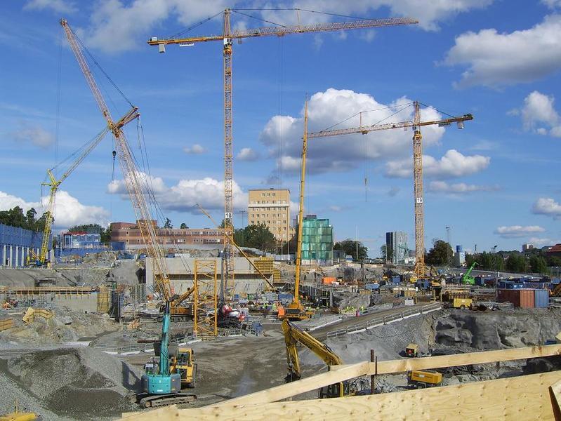 KS-bygget vid Norrbacka sept. 2011.