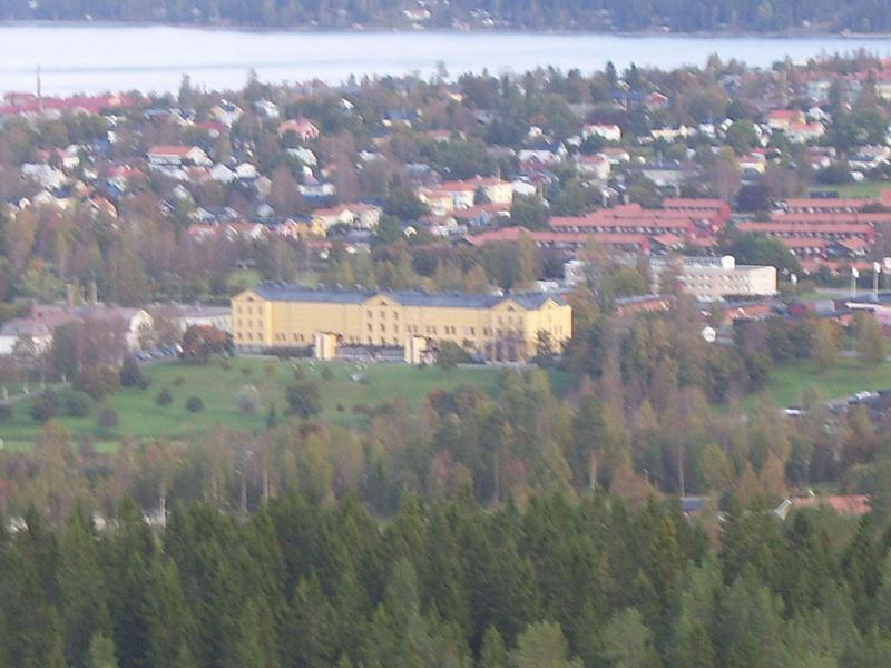Utsikt från vårdkasberget 2014