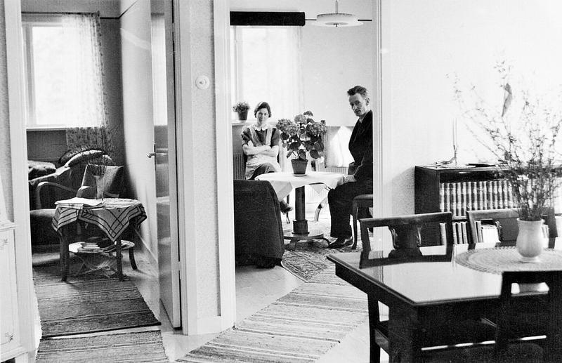 Sommarsol 1940-talet.