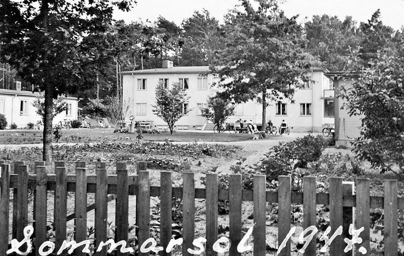 Sommarsol 1947.