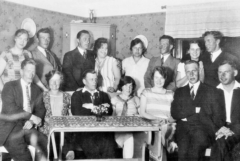 Sommarsol bildas 1929.