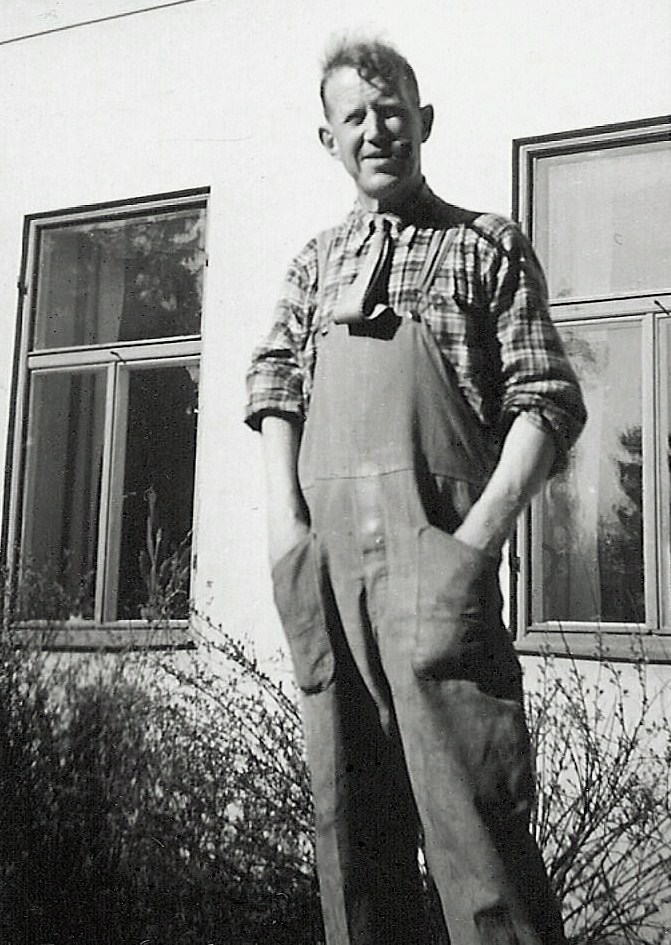 Vaktmästare farbror Verner.