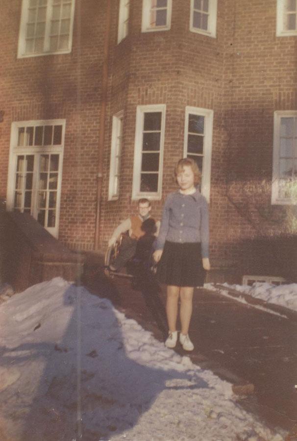 Mycket snö i början av 1960-talet